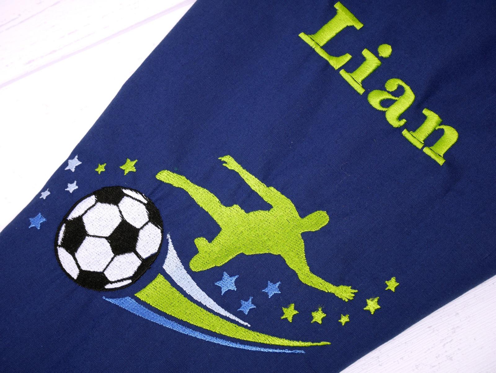 Schultüte aus Stoff Fußball Zuckertüte 5