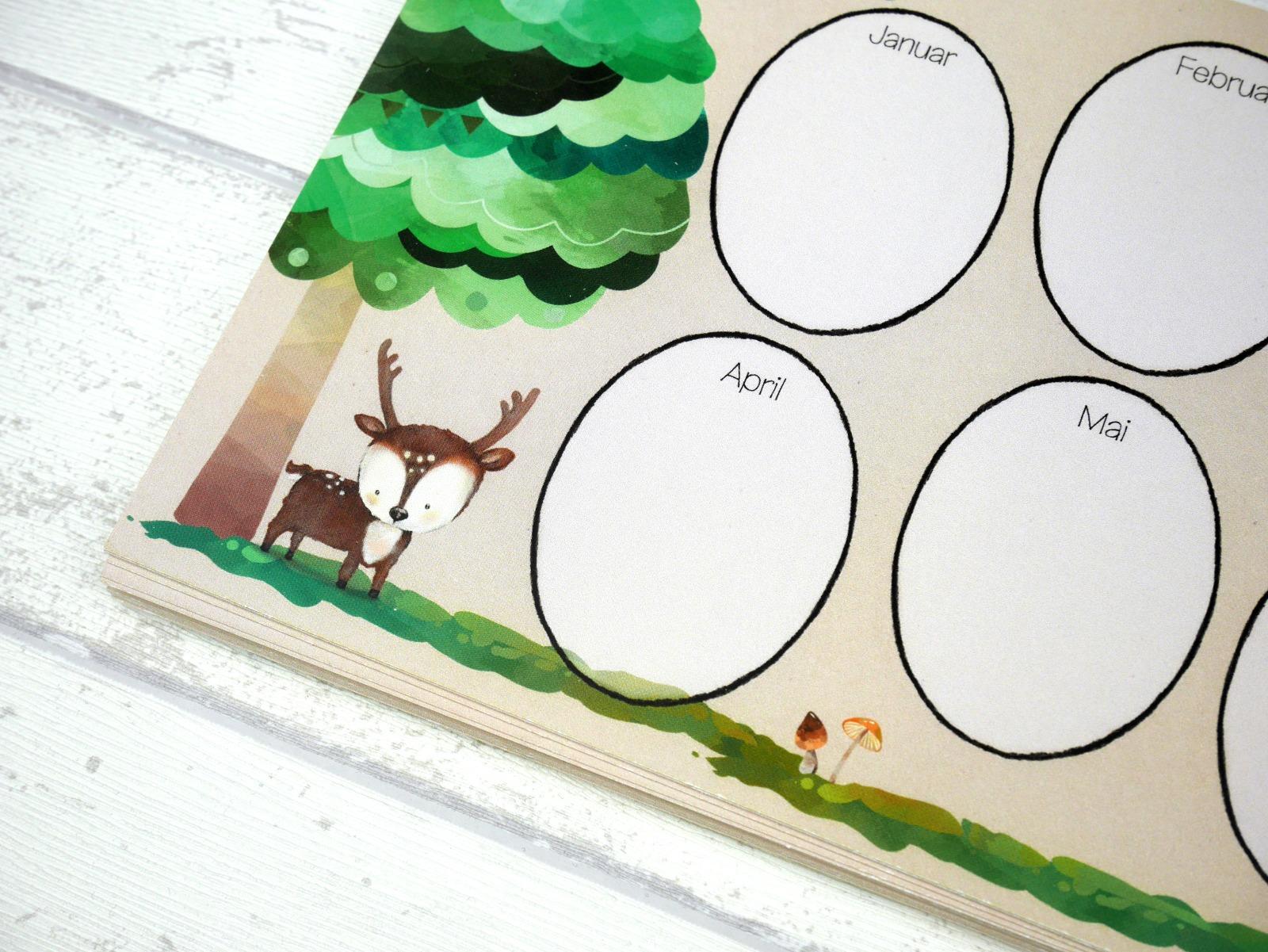 Kindergarten Freundebuch Waldtiere Kiga Freundschaftsbuch Alle