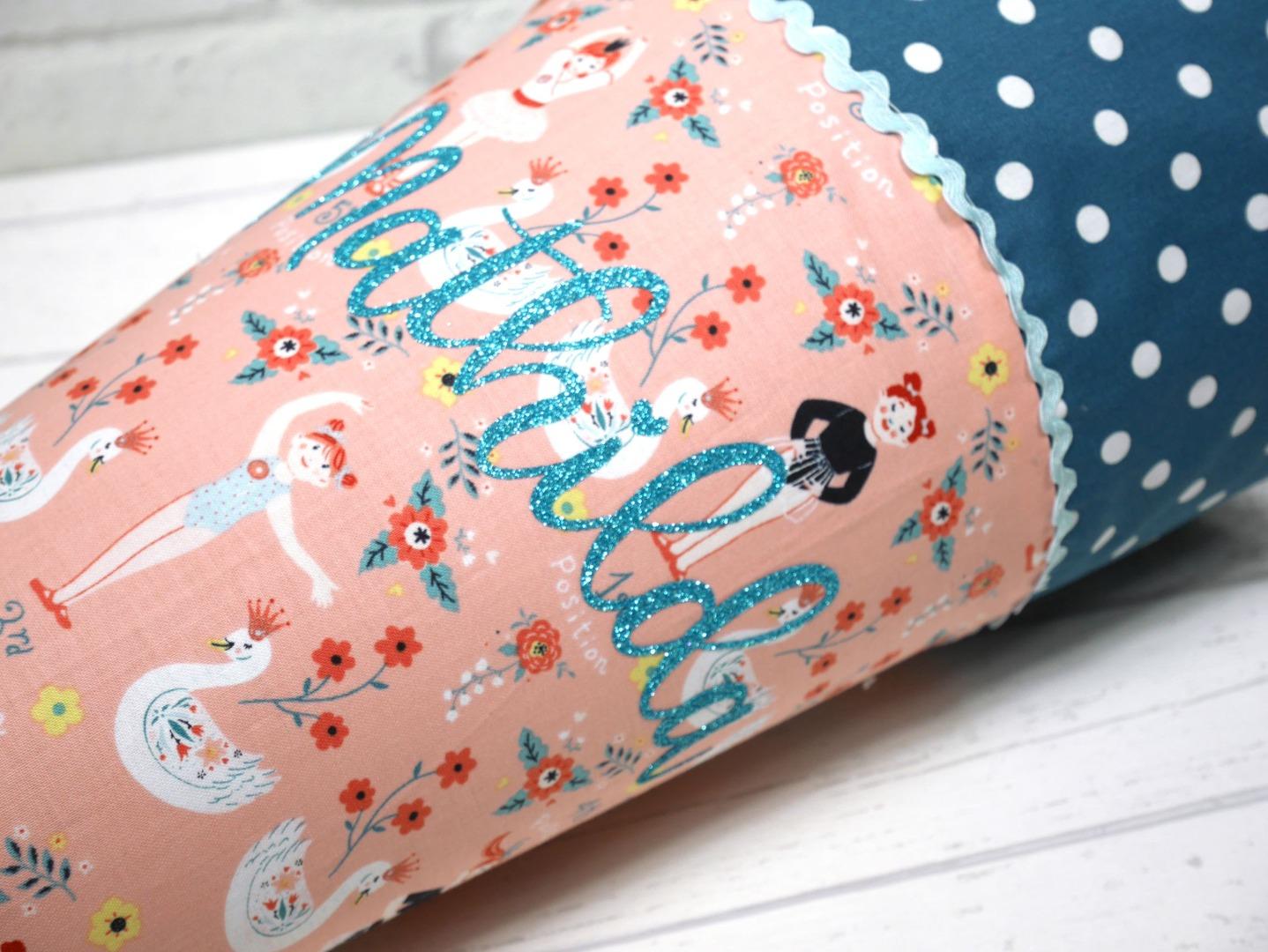 Schultüte aus Stoff Retro Ballett Zuckertüte