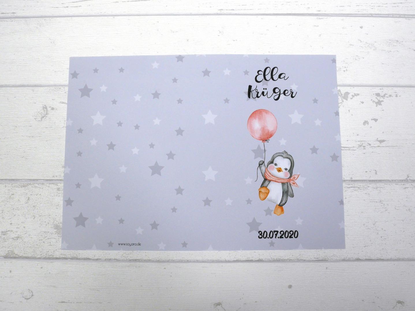 U-Heft Hülle Pinguin mit Impfpass Hülle