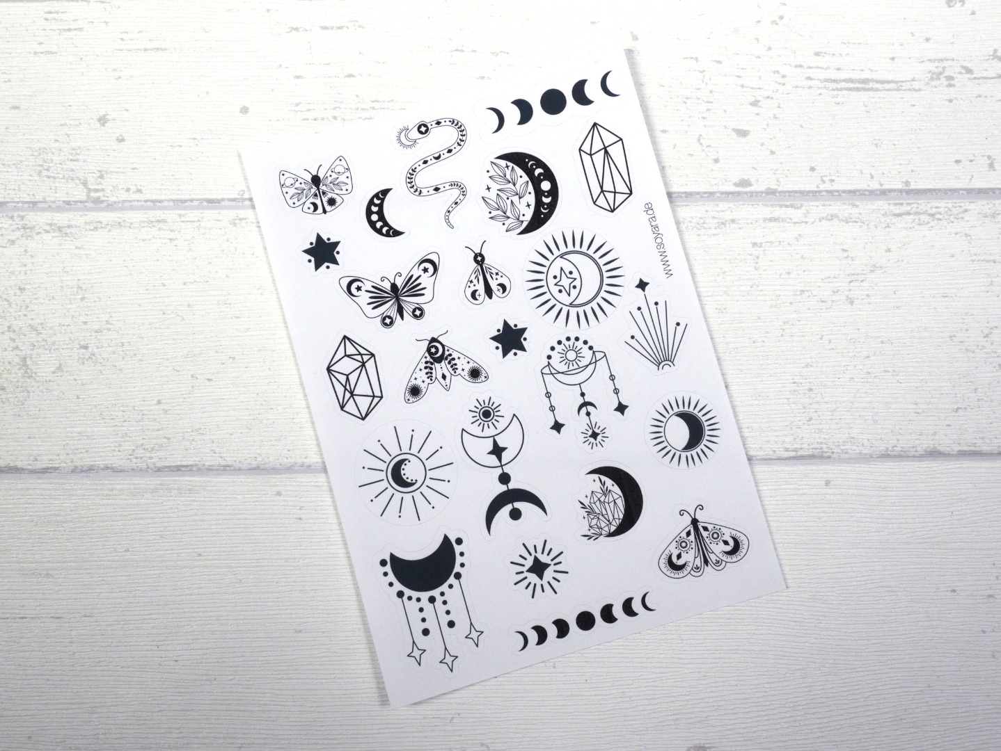 Sticker Boho schwarz 2