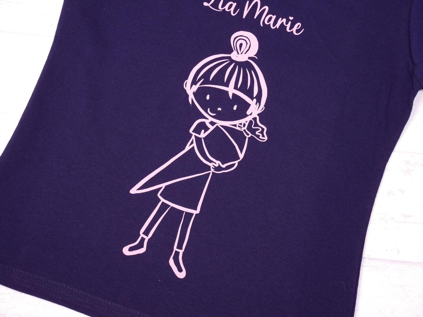 Schulkind T-Shirt mit Namen zur Einschulung