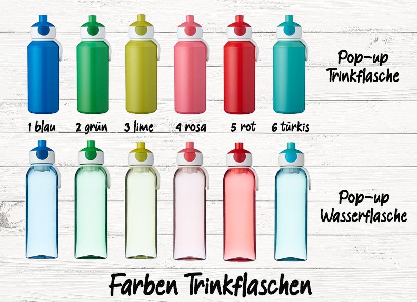Brotdose Rakete mit Name Trinkflasche personalisiert