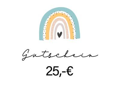 Gutschein 25-