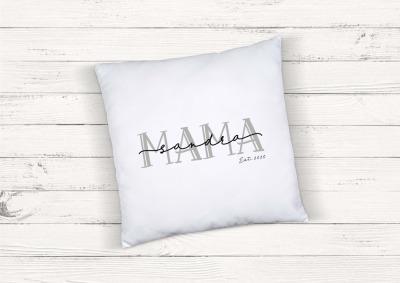 Kissen Mama personalisiert mit Name und
