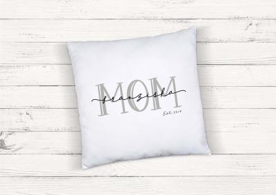 Kissen Mom personalisiert mit Name und