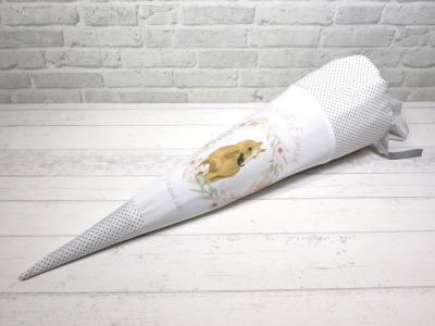 Haflinger Schultüte aus Stoff 70cm mit