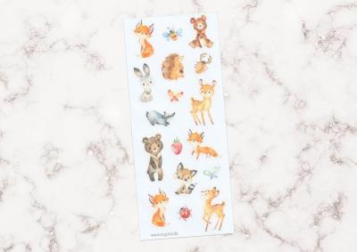 Sticker Waldtiere