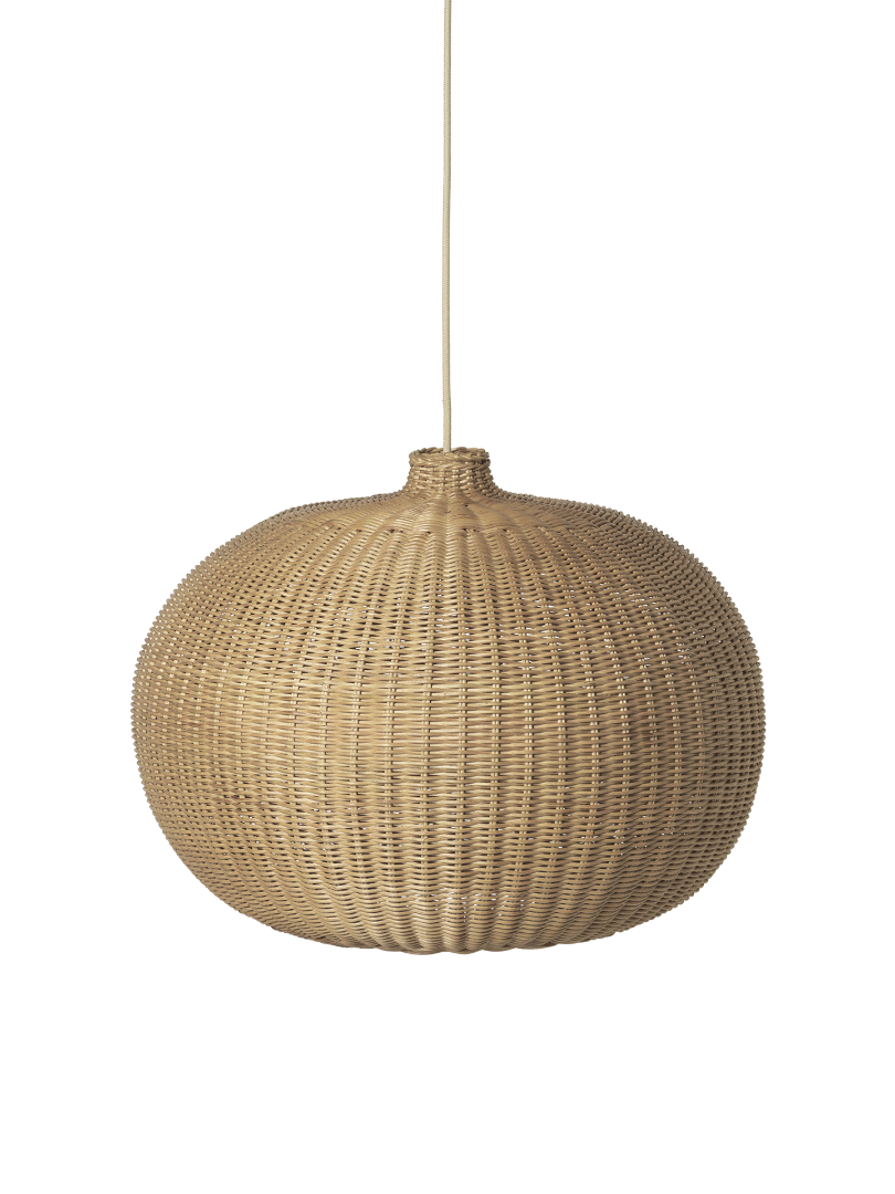 Braided Belly Lampshade von ferm LIVING