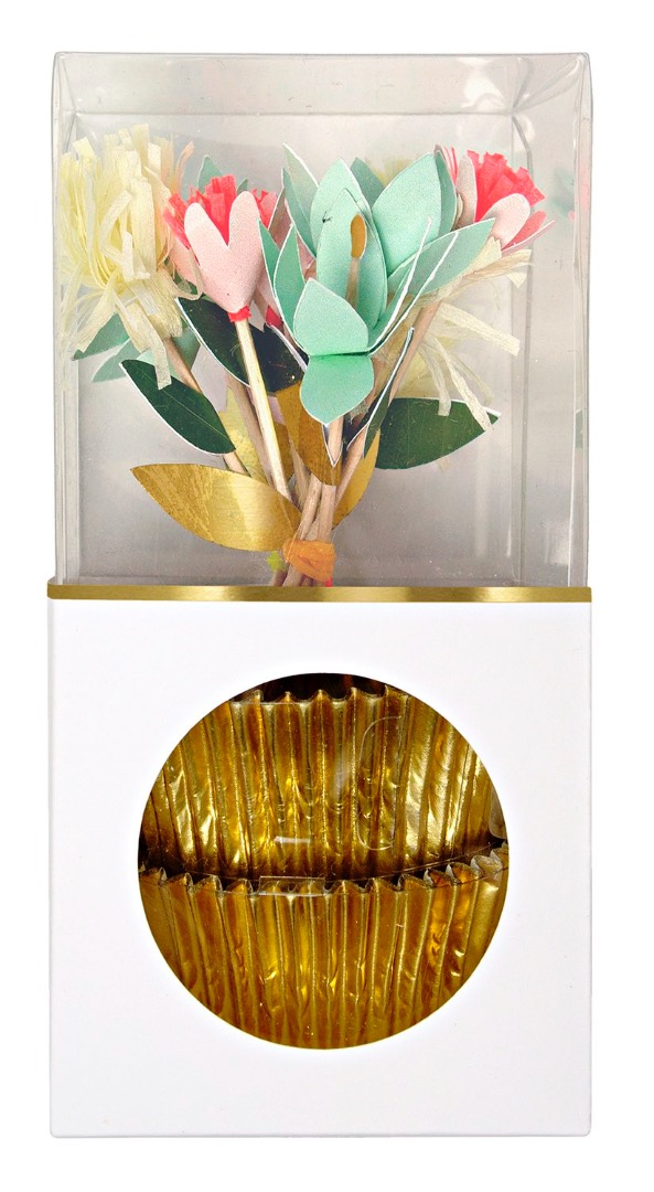 FLOWERS CUPCAKE KIT von Meri Meri - 1