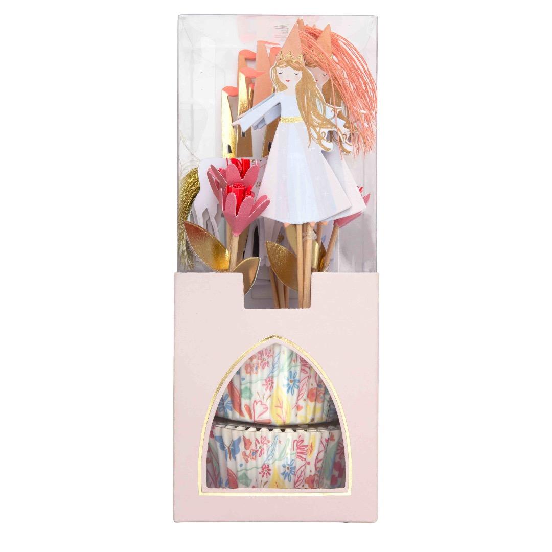 MUFFINSET MAGISCHE PRINZESSIN - CUPCAKE KIT MAGICAL PRINCESS von Meri Meri