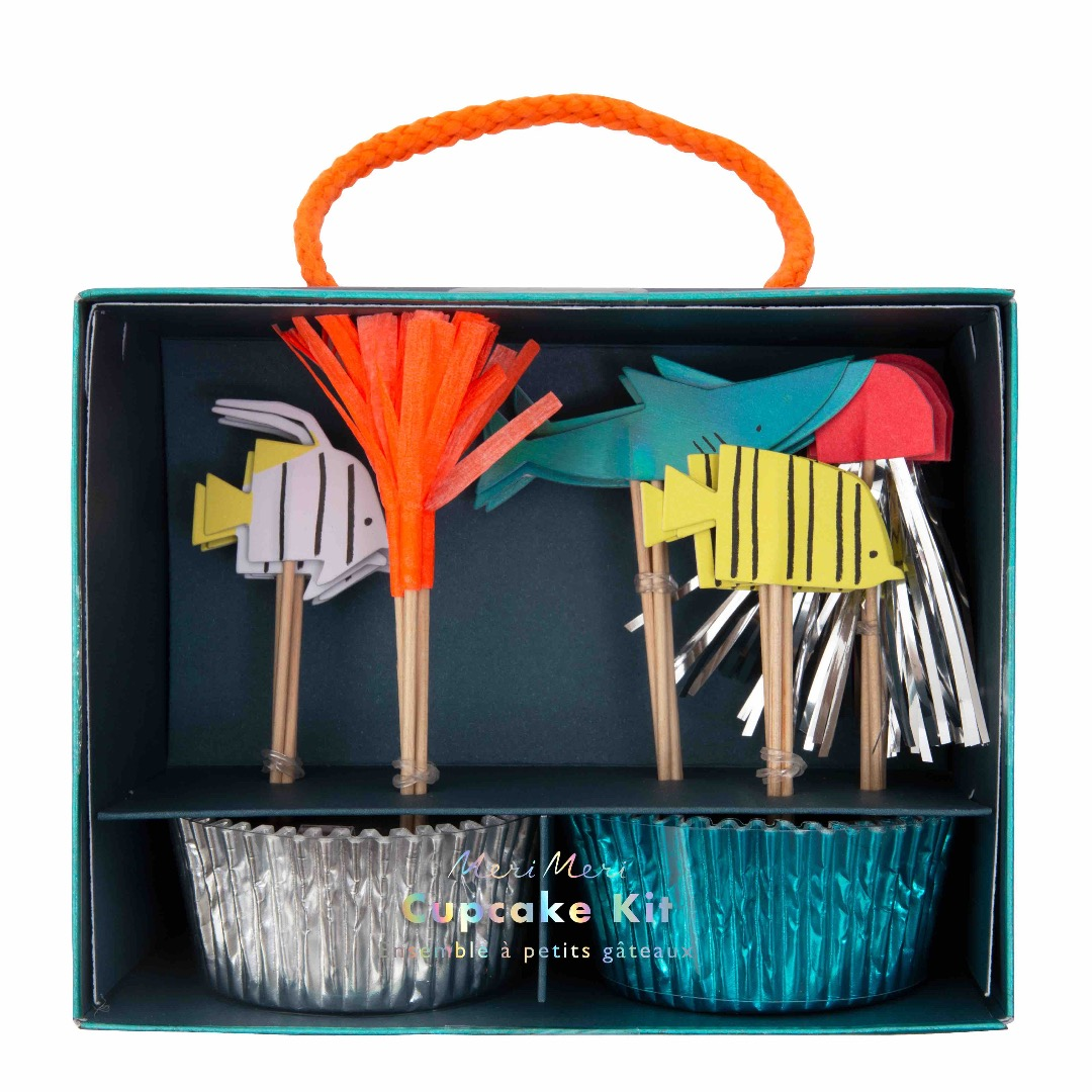 UNDER THE SEA CUPCAKE SET von Meri Meri - 1