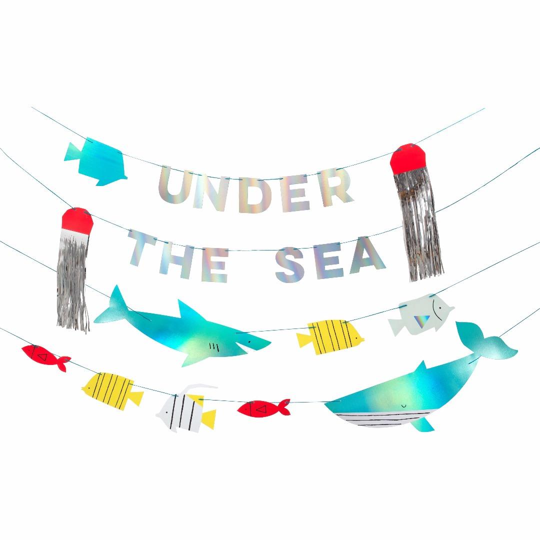 UNDER THE SEA GIRLANDE von Meri Meri - 1