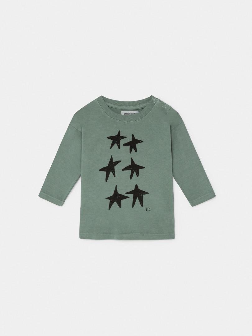 STARS LONG SLEEVE T-SHIRT Baby von Bobo Choses - 2