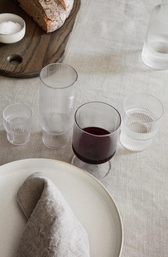 Gläser Ripple Glass Small Clear Set