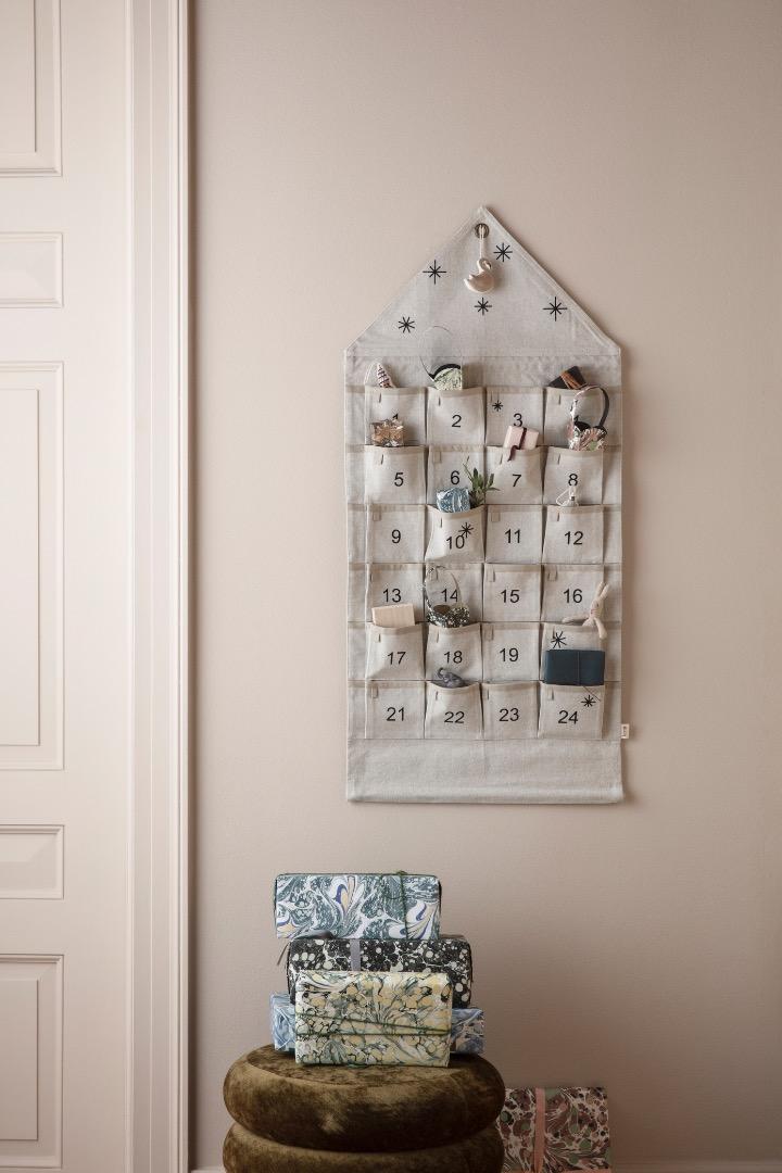 Adventskalender Star Christmas Calendar Sand von