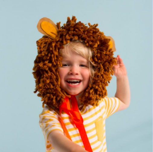 LÖWENMÄHNEKOSTÜM - LION HEAD DRESS von Meri Meri