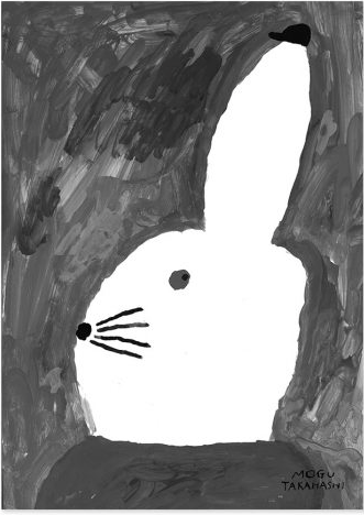 POSTER RABBIT WITH SMALL HAT von Fine Little Day