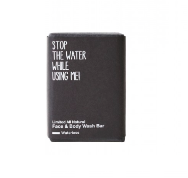 LIMITED ALL NATURAL FACE & BODY WASH BAR von STOP THE WATER WHILE USING ME - 1