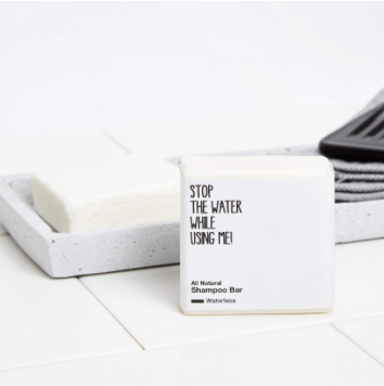 ALL NATURAL SHAMPOO BAR von STOP THE WATER WHILE USING ME - 1