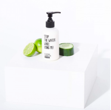 HANDCREME GURKE LIMONE / HAND BALM CUCUMBER LIME 200 ml von STOP THE WATER WHILE USING ME - 2