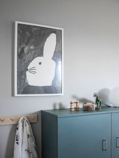 POSTER RABBIT WITH SMALL HAT von