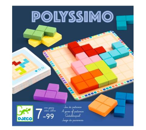 Knobel-Spiel Polyssimo von Djeco