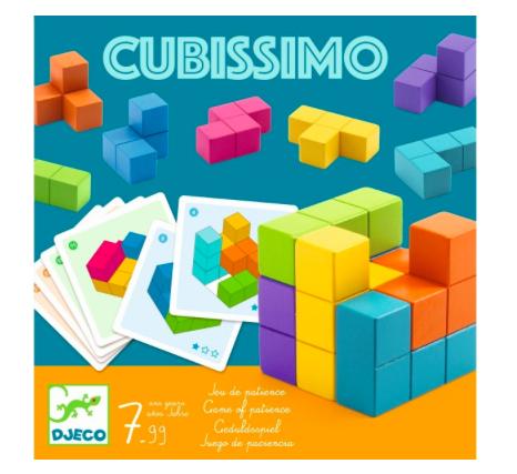 Knobel- Spiel Cubissimo von Djeco