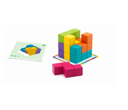 Knobel- Spiel Cubissimo von Djeco 2