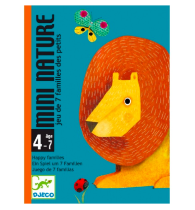 Kartenspiel Mini Nature von Djeco