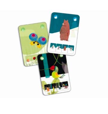 Kartenspiel Mini Nature von Djeco 2