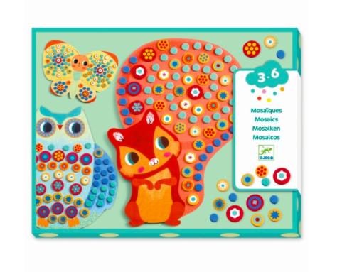 Mosaikbilder Millefiori von Djeco