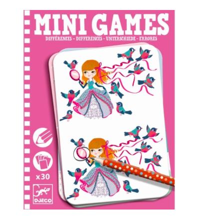 Mini Games Unterschiede finden von Djeco
