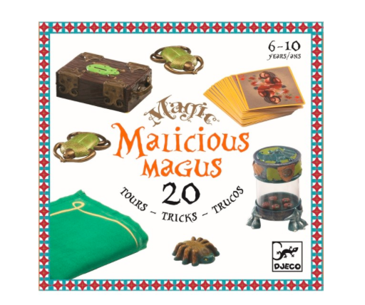 Zaubertricks Malicious 20 Tricks von Djeco