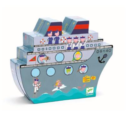 Spiel Schiffe versenken von Djeco