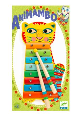 Musikinstrument Animambo Metallophon von Djeco