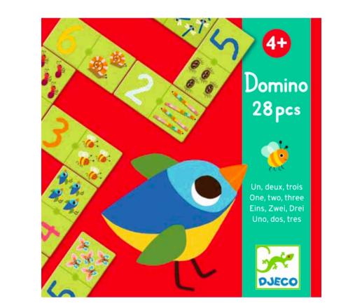 Domino Lernspiel von Djeco