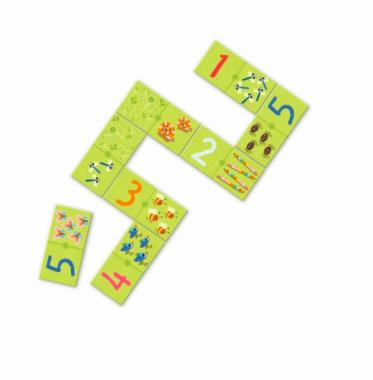 Domino Lernspiel von Djeco 2