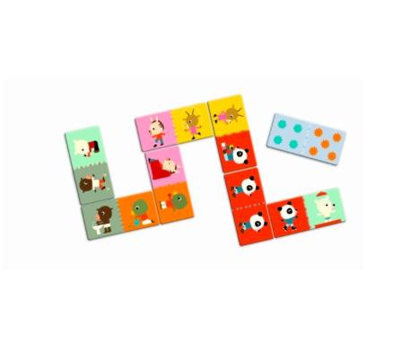 Riesen-Domino Spiel Freunde von Djeco 2