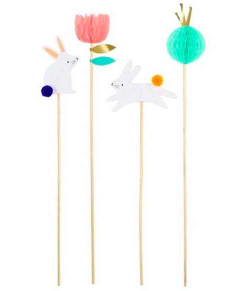 Cake Topper Bunny von Meri Meri