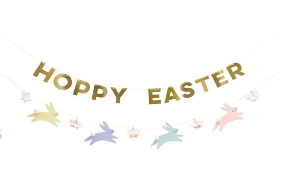 Pastel Hoppy Easter Garland von Meri