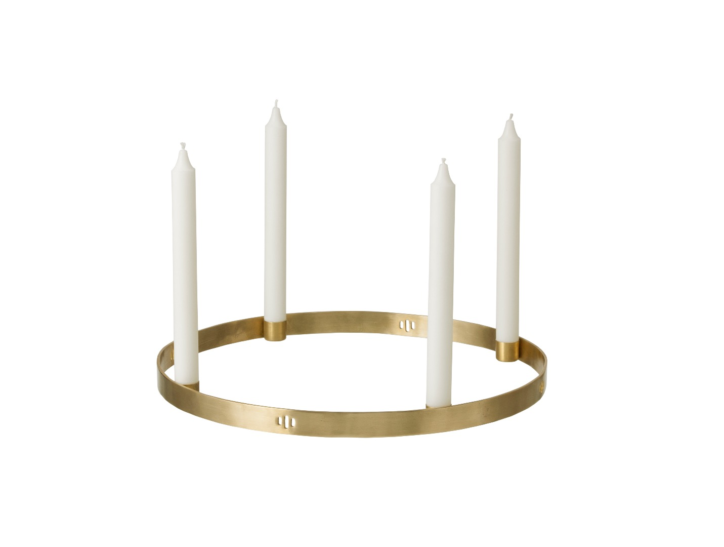 Adventskranz Candle Holder Circle small von