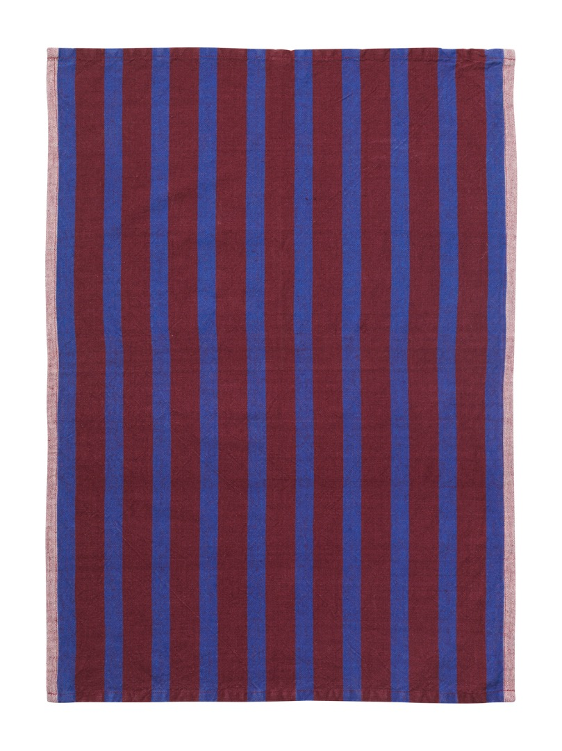 Geschirrtuch Hale Yarn-Dyed Tea Towels Brown/Navy