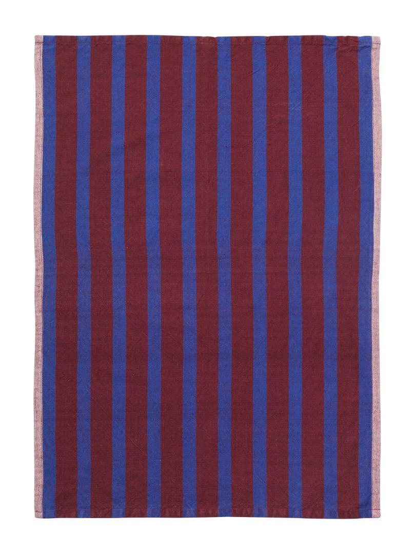 Geschirrtuch Hale Yarn-Dyed Tea Towels Brown/Navy