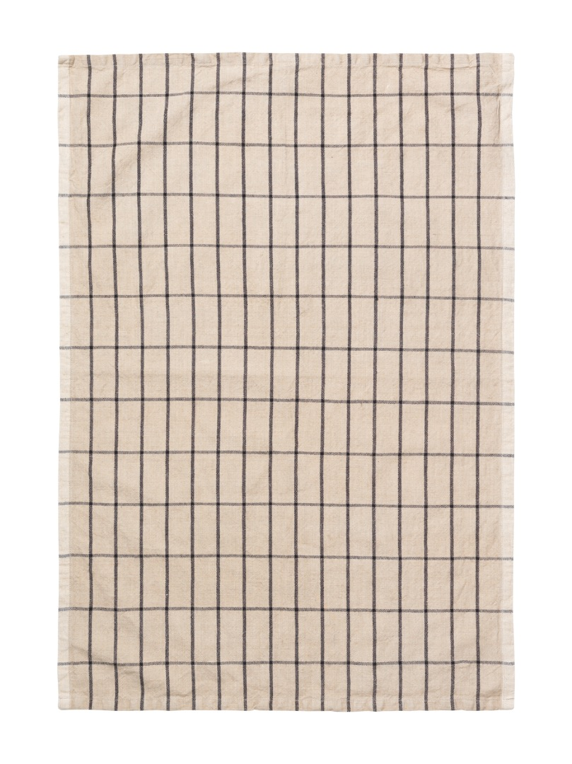 Geschirrtuch Hale Yarn-Dyed Tea Towels Sand/Black