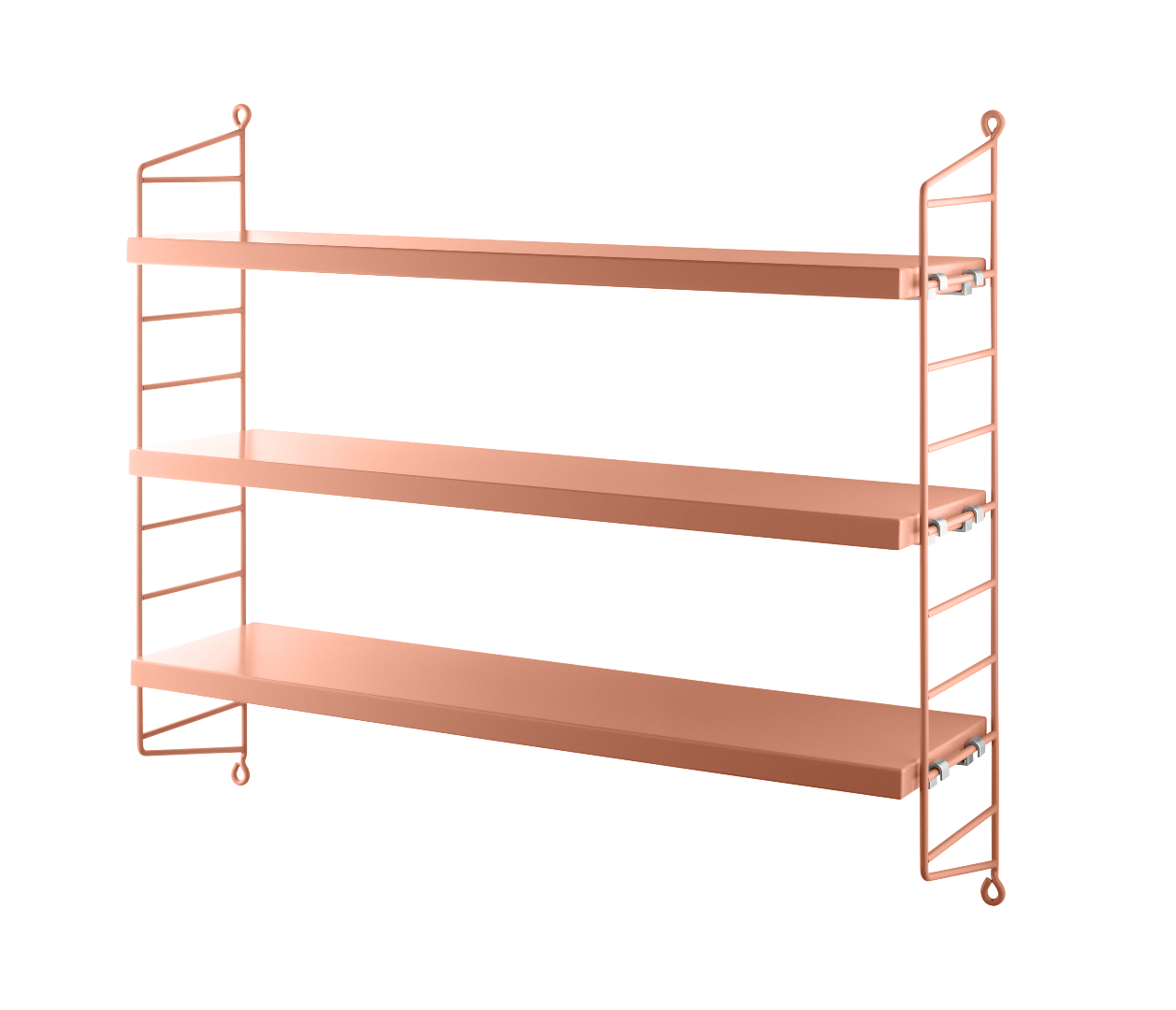 STRING POCKET REGAL BLUSH/BLUSH von string furniture - 1