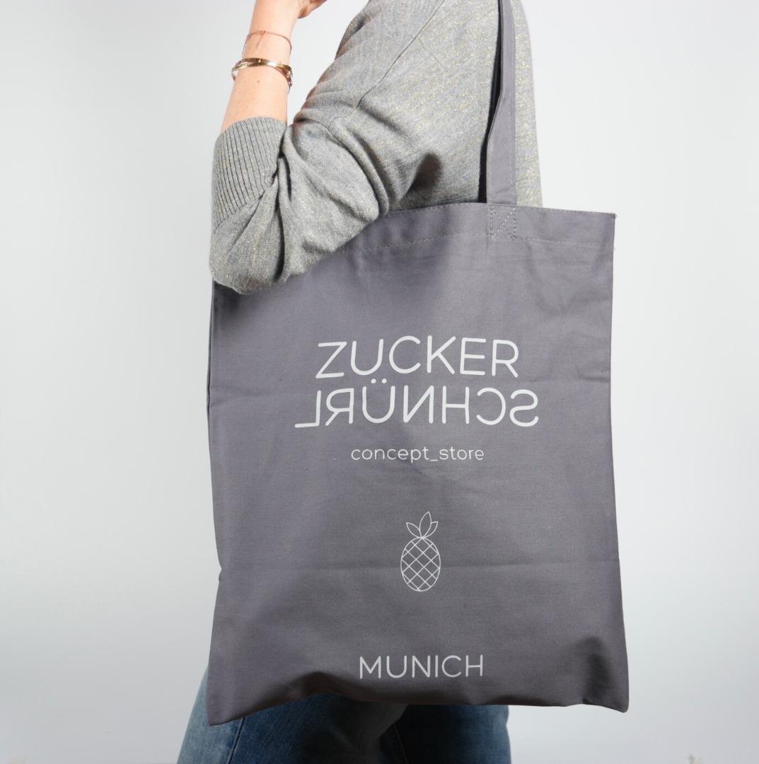 Cotton Bag ZUCKERSCHNÜRL GEMEINSAM KINDERN EINE - 2