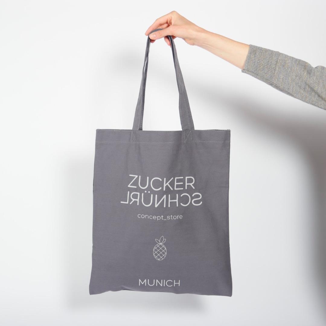 Cotton Bag ZUCKERSCHNÜRL GEMEINSAM KINDERN EINE - 1