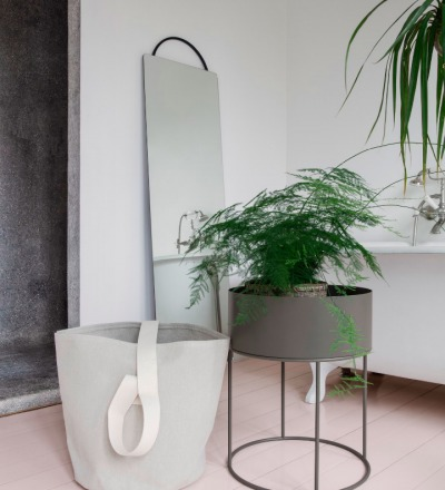 PLANT BOX ROUND - WARM GREY von ferm LIVING - ferm LIVING