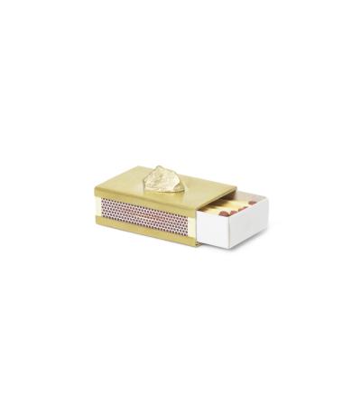Streichholzbox Stone Matchbox Cover von ferm